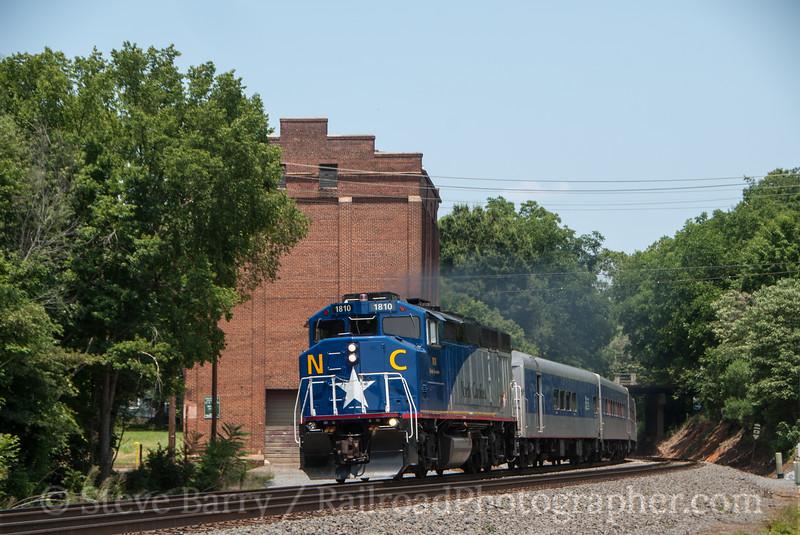 Photo 2409 Amtrak; Salisbury, North Carolina July 4, 2012