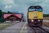 Photo 2101<br /> VIA Rail Canada; Lake Louise, Alberta<br /> September 1988