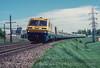 Photo 2862<br /> VIA Rail Canada; Sainte Anne de Bellevue, Quebec<br /> June 1989