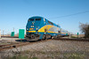 Photo 1843<br /> VIA Rail Canada; DeBeaujeu, Quebec<br /> April 14, 2010