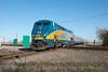 Photo 1843<br /> VIA Rail Canada; DeBeaujeu, Quebec<br /> April 14, 2010