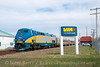 Photo 1845<br /> VIA Rail Canada; Alexandria, Ontario<br /> April 15, 2010