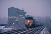 Photo 0566<br /> VIA Rail Canada; Ile Perrot, Quebec<br /> December 12, 1997