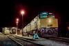 Photo 2977<br /> VIA Rail Canada; Revelstoke, British Columbia<br /> May 1988