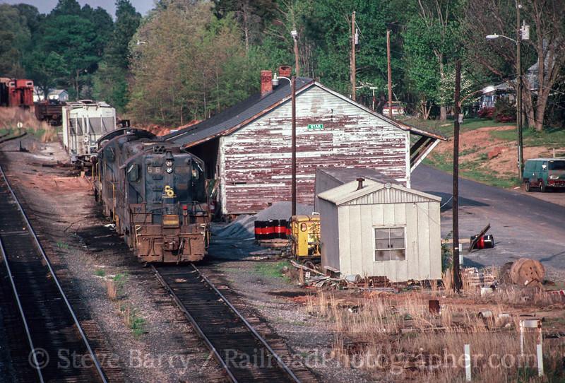Photo 2891 Aberdeen, Carolina & Western; Star, North Carolina May 1992