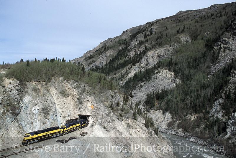 Photo 1366<br /> Alaska Railroad; Moody Tunnel, Healy, Alaska<br /> June 2001