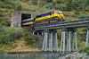 Photo 2802<br /> Alaska Railroad; Bear Valley, Whittier, Alaska<br /> September 21, 2013