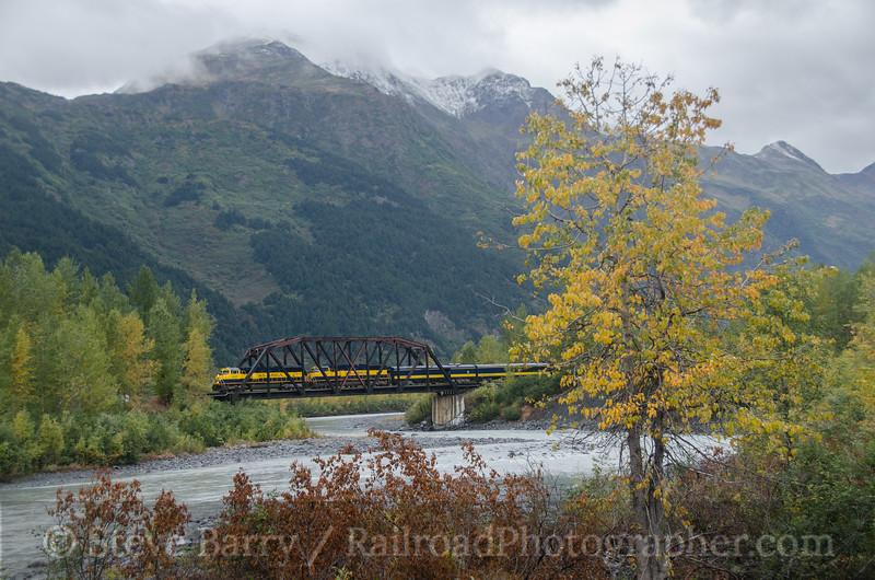 Photo 2804<br /> Alaska Railroad; Spencer, Alaska<br /> September 21, 2013