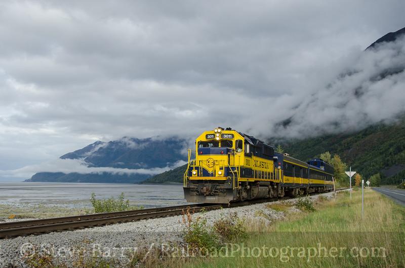 Photo 2795<br /> Alaska Railroad; Brookman, Alaska<br /> September 18, 2013