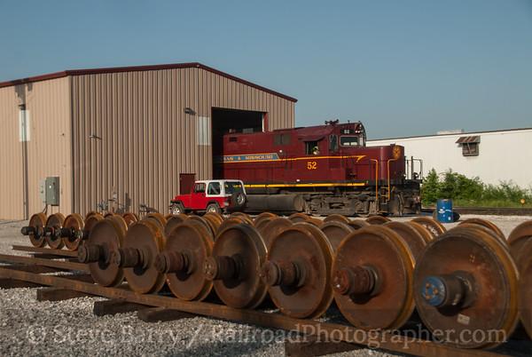 Photo 3178 Arkansas & Missouri; Springdale, Arkansas June 16, 2014