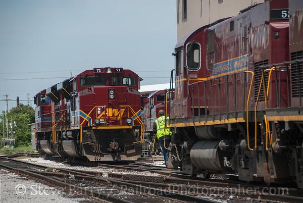 Photo 3175 Arkansas & Missouri; Springdale, Missouri June 15, 2014