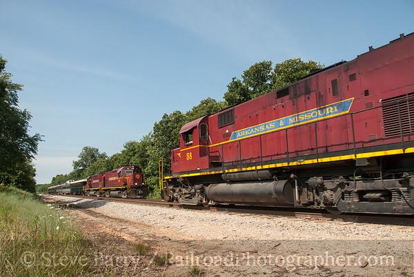 Photo 3174 Arkansas & Missouri; Exira, Missouri June 14, 2014