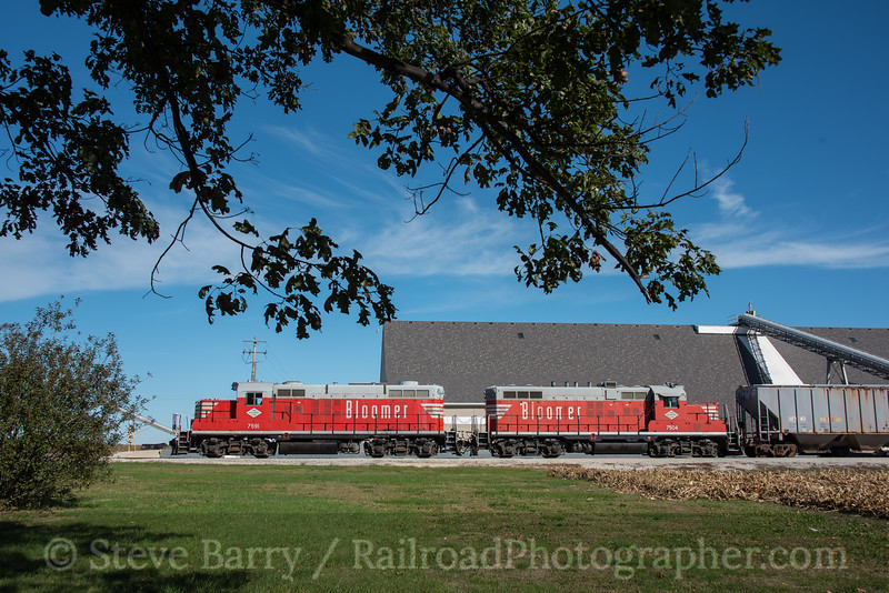 Photo 4375<br /> Bloomer Line<br /> Colfax, Illinois<br /> October 17, 2017