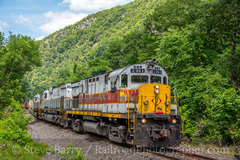 Photo 4997<br /> Delaware Lackawanna<br /> Delaware Water Gap, Pennsylvania<br /> June 26, 2018