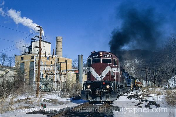 Photo 3938 Delaware Lackawanna; Delaware Water Gap, Pennsylvania February 2005