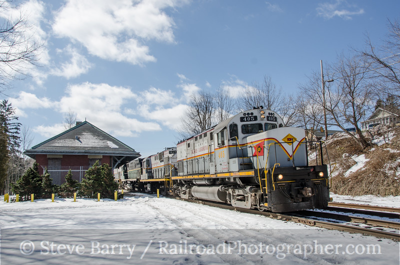 Photo 3345<br /> Delaware Lackawanna; Moscow, Pennsylvania<br /> March 22, 2015