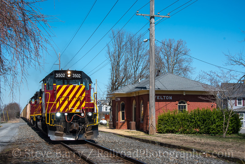Photo 4623<br /> Delmarva Central<br /> Felton, Delaware<br /> March 31, 2018