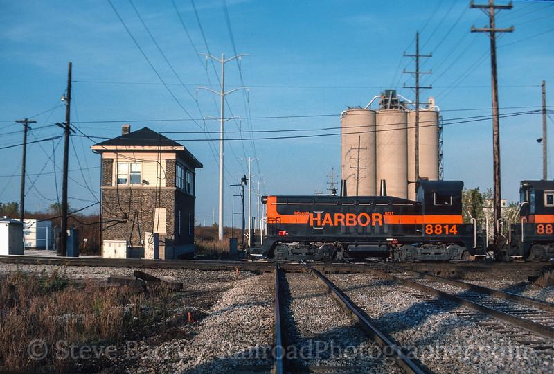 Photo 3522<br /> Indiana Harbor Belt; Argo, Summit, Illinois<br /> October 1987
