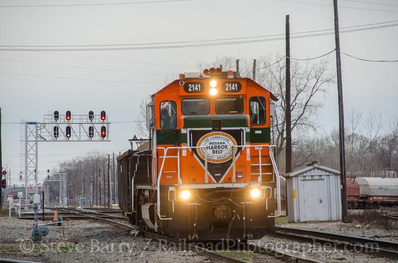 Photo 3368<br /> Indiana Harbor Belt; Dolton, Illinois<br /> April 12, 2015