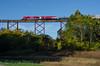 Photo 3964<br /> Indiana Rail Road; Tulip Trestle, Tulip, Indiana<br /> October 13, 2016