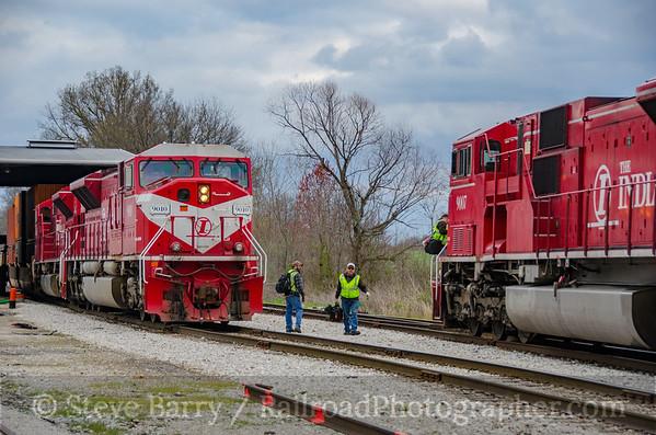 Photo 3727 Indiana Rail Road; Switz City, Indiana April 7, 2016