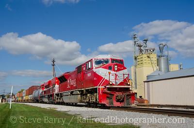 Photo 3963 Indiana Rail Road; Bargersville, Indiana October 13, 2016
