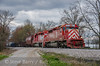 Photo 3726<br /> Indiana Rail Road; Lewis, Indiana<br /> April 7, 2016