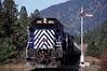 Photo 0699<br /> Montana Rail Link; Donlan, Montana<br /> September 2000
