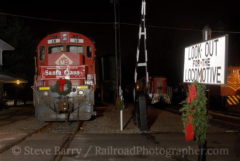 Photo 1102<br /> Whippany Railway Museum; Whippany, New Jersey<br /> December 8, 2007