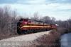 Photo 0424<br /> New York, Susquehanna & Western; Oak Ridge, New Jersey<br /> February 18, 1997