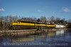 Photo 5014<br /> New York, Susquehanna & Western<br /> Lake Grinnell, New Jersey<br /> February 1996