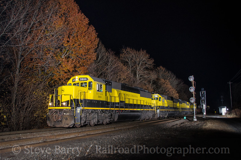 Photo 3579<br /> New York, Susquehanna & Western; Port Jervis, New York<br /> November 9, 2015