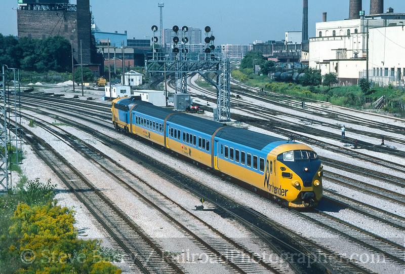 Photo 4518<br /> Ontario Northland<br /> Toronto, Ontario<br /> September 1986
