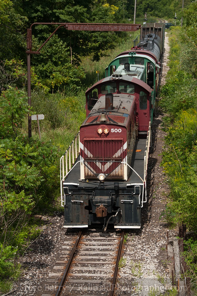 Photo 2185<br /> Ontario Southland; Tillsonburg, Ontario<br /> August 23, 2011