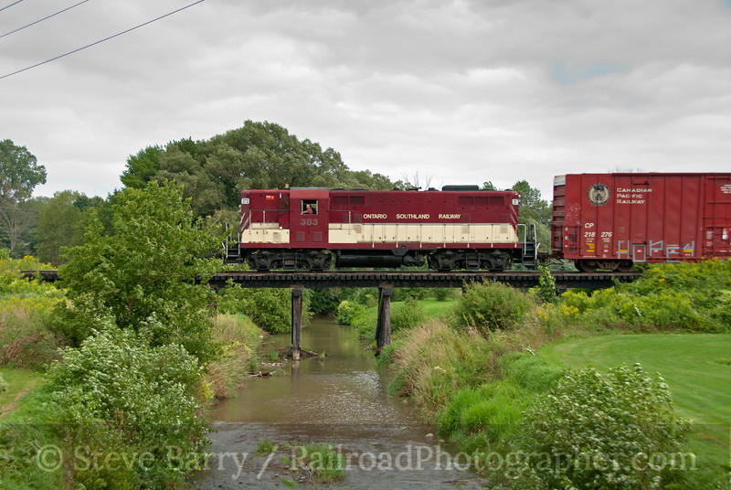 Photo 2192<br /> Ontario Southland; Putnam, Ontario<br /> August 24, 2011