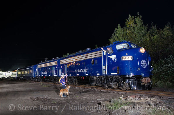 Photo 3487 Pan Am Railways; White River Junction, Vermont September 12, 2015