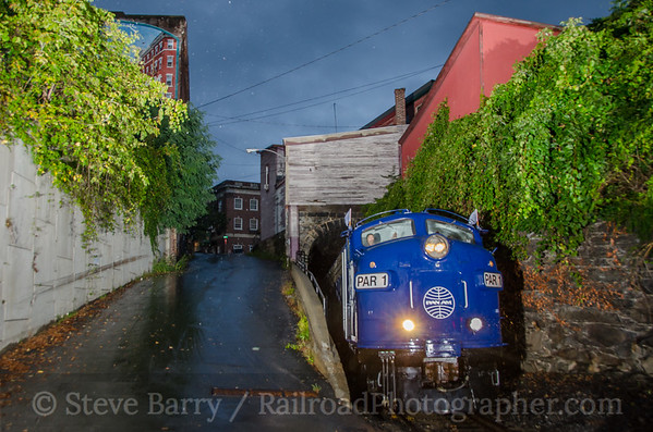 Photo 3489 Pan Am Railways; Bellows Falls, Vermont September 13, 2015