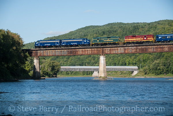 Photo 3205 Pan Am Railways; Windsor, Vermont September 12, 2014