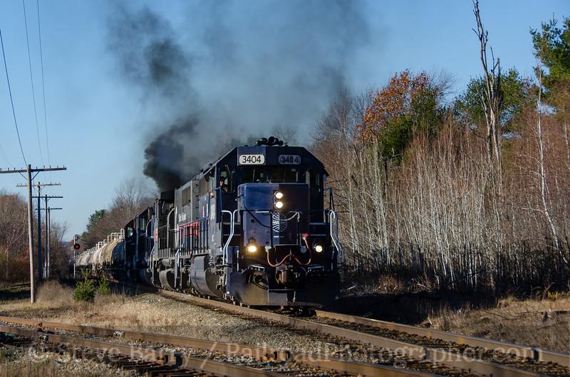Photo 4001<br /> Pan Am Railways; Otter River, Massachusetts<br /> November 13, 2016