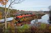 Photo 3987<br /> Providence & Worcester; Webster, Massachusetts<br /> October 30, 2016