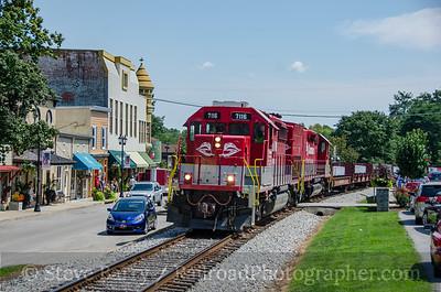 Photo 3454 R.J. Corman; Midway, Kentucky August 15, 2015