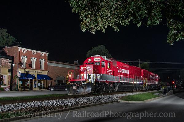 Photo 3440 RJ Corman; Midway, Kentucky August 9, 2015