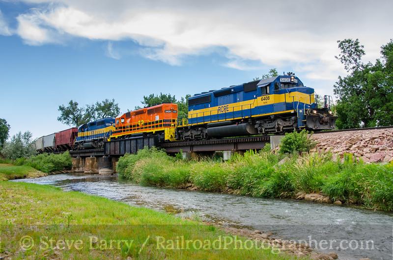 Photo 3841<br /> Rapid City, Pierre & Eastern; Belle Fourche, South Dakota<br /> July 7, 2016