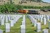 Photo 3843<br /> Rapid City, Pierre & Eastern; Black Hills National Cemetery, Sturgis, South Dakota<br /> July 7, 2016