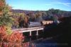 Photo 1255<br /> Reading, Blue Mountain & Northern; Auburn, Pennsylvania<br /> October 12, 1999
