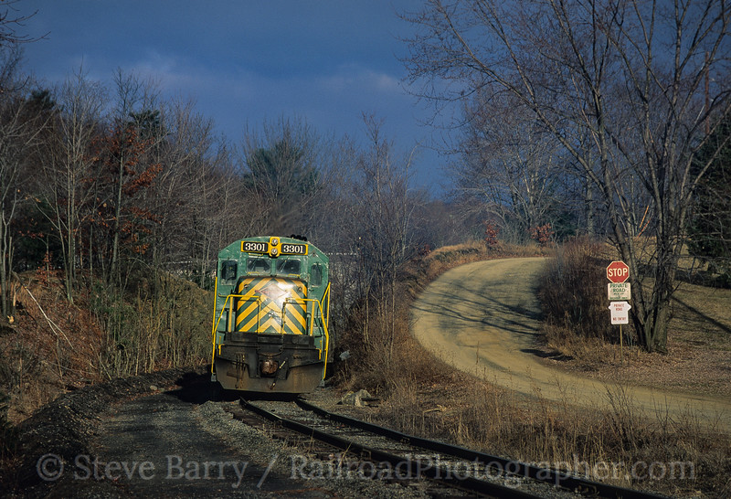 Photo 3538<br /> Reading, Blue  Mountain & Northern; Marlin, Pennsylvania<br /> January 1993