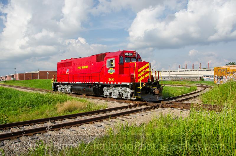 Photo 3911<br /> Port Harbor; Granite City, Illinois<br /> July 25, 2016