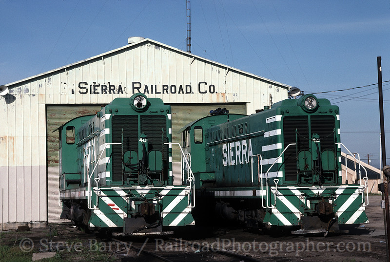 Photo 0509<br /> Sierra Railway; Oakdale, California<br /> March 11, 1998