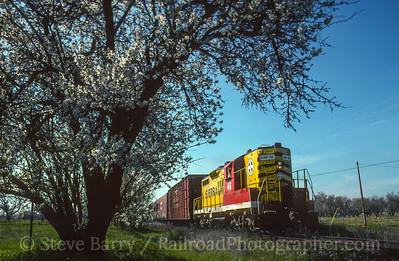 Photo 3945 Sierra Railroad; Oakdale, California March 1998