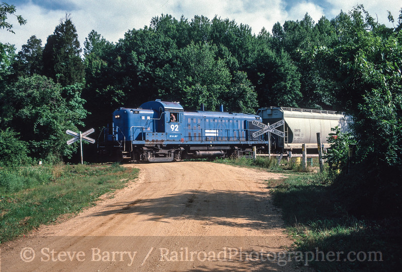 Photo 2203 West Jersey Short Line; Mannington, New Jersey June 25, 1986